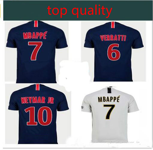 1fc37f57f17329 2019 PSG shirt 18 19 Home Away camisetas Neimar JR MBAPPE t-shirt adult  size S-4XL