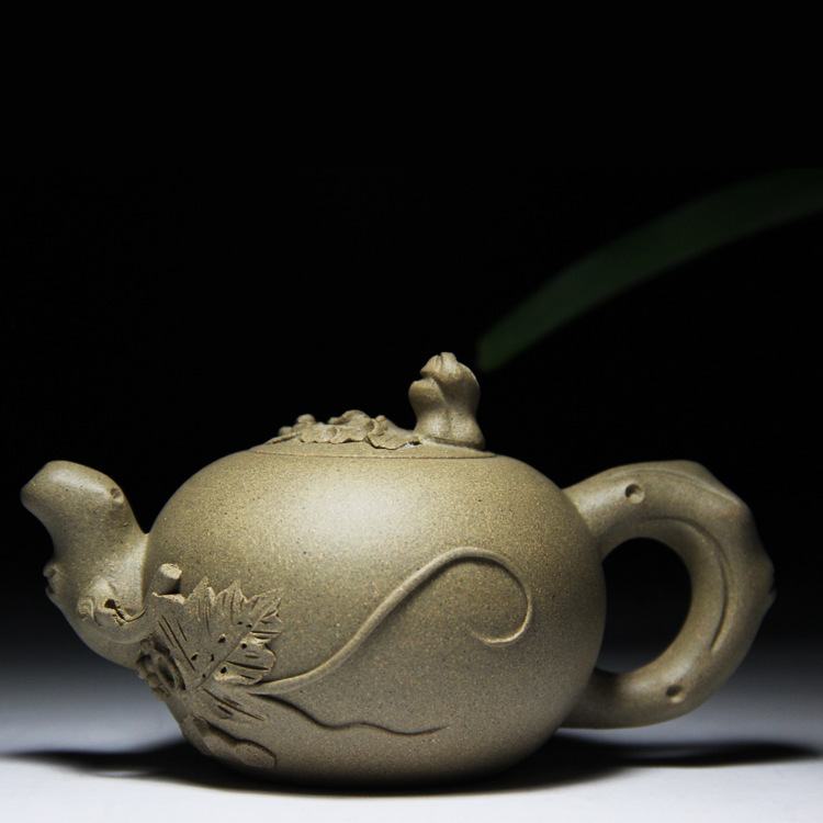 Yixing are recommended by pure manual grape teapot kung fu tea set on sale wholesale custom travelYixing are recommended by pure manual grape teapot kung fu tea set on sale wholesale custom travel
