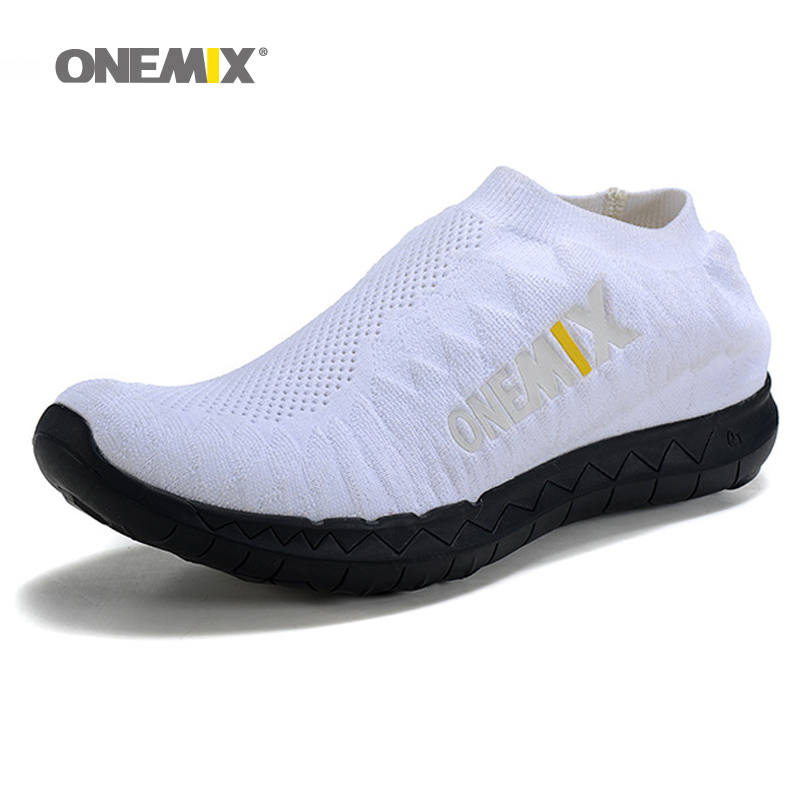 ФОТО ONEMIX Slip On Free Knit 3.0 Running Shoes for Women Run Athletic Trainers Breathable Sports Shoe Light Loafers Walking Sneakers