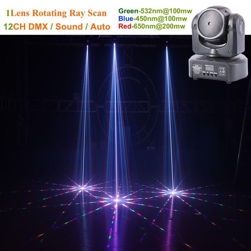 De noël 1 Objectif RVB Laser Requin Schéma Déplacement Faisceau Lumière DMX Professionnel DJ Party Accueil Discothèque Effet Éclairage de Scène QH-1C