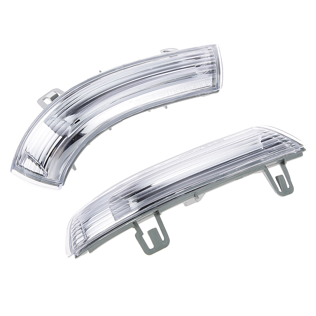 Image 4 - 1 Pcs Car Side Rear View Mirror Indicator Turn Signal Light R+L For VW MK5 Golf Passat Jetta Etc 19x3cm Wing Mirror Indicator-in Mirror & Covers from Automobiles & Motorcycles