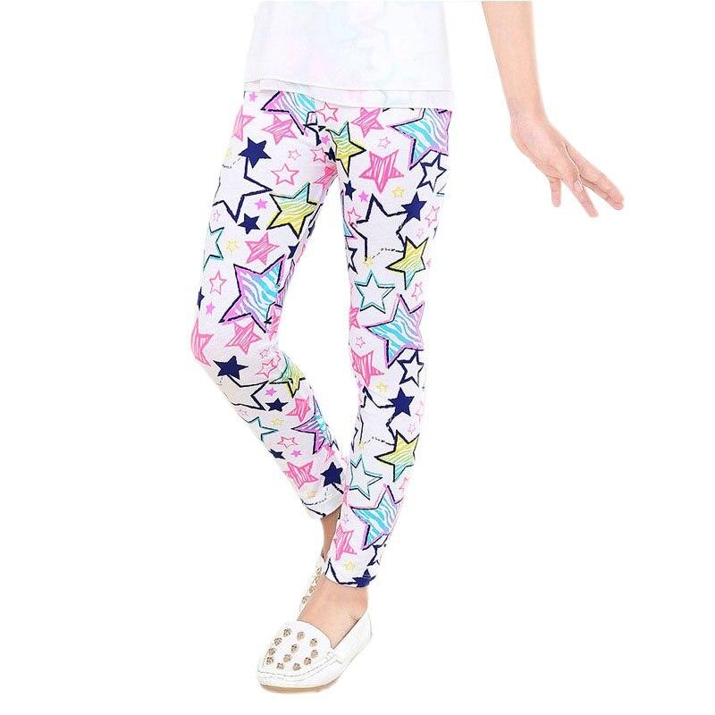 2-14Y-Baby-Kids-Girls-Leggings-Pants-Flower-Floral-Printed-Elastic-Long-Trousers-Hot-4