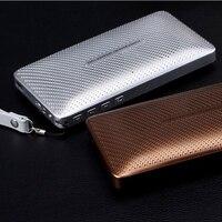 Wallet Shape Bluetooth Speaker Power Bank Portable Mini Computer Speaker Wireless Loudspeaker 3000mah Rechargeable Battery