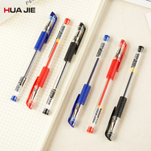 Creative Office Refill Gel Pen 12Pcs 0.5mm Blue Black Red Ink Magic Signature Pen Writing Tool School Office Supplies GP-100 0 5mm refill plastic gel pen 12pcs simple neutral pen black red blue high quality exam pen office school writing supplies k 35