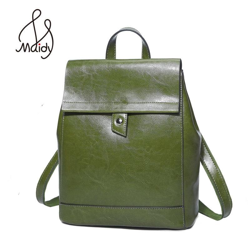 High Fashion School Genuine Leather Backpack Cow Zipper Ladies Women And Shoulder Bags Mochila School Bags