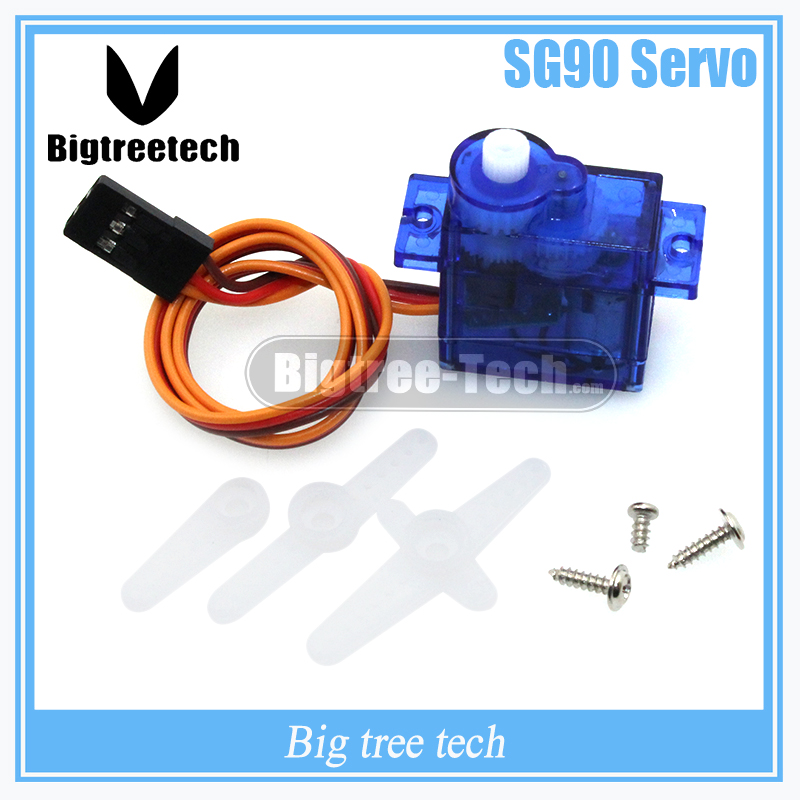 3D printer part SG90 9g Mini Micro Servo for RC for RC 250 trex 450 Helicopter Airplane Car Motors F