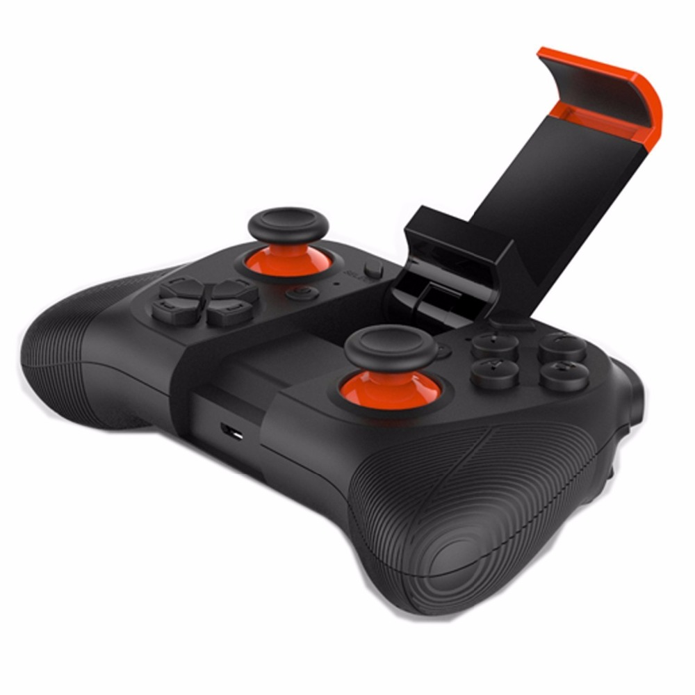 Moveski Mocute 050 Wireless Game Controller Phone Gamepad for <font><b>Android</b></font> smartphones iPad TV / PC