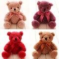 20 см Мини Мишка Фаршированные Плюшевые Игрушки Милые Животные С Бантом Медведь Кукла Успокоить Игрушки детские Подарки семь Цветов