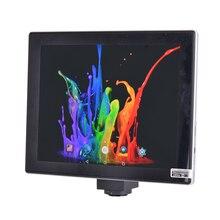 الروبوت CMOS 5.0MP حاسوب لوحي بشاشة لمس كاميرا مجهَّزة بميكروسكوب رقمي مع 9.7 بوصة LCD الروبوت قرص سادة