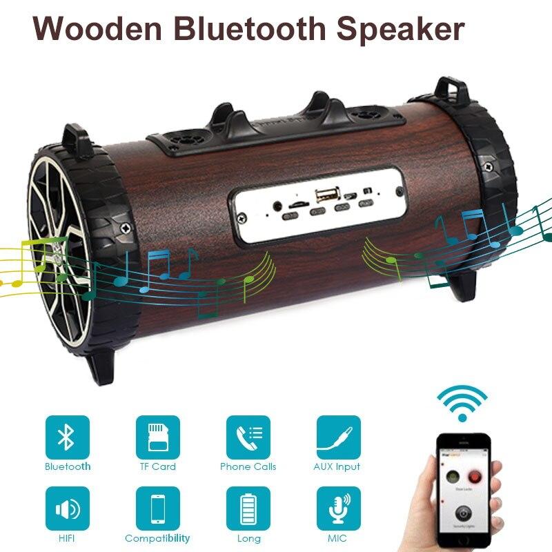 Haut-parleur extérieur Bluetooth sans fil Bluetooth 2000 MAH haut-parleur d'appel vocal Portable universel HIFI Double trompette Portable Source
