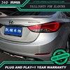 Car Styling case for Hyundai Elantra 2012-2016 TAIL Lights LED Tail Light LED Rear Lamp DRL+Brake+Reversing+Signal Automobile