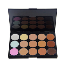 Pro Beauty Women Face Powder Cream Contour Makeup Concealer Palette Camouflage