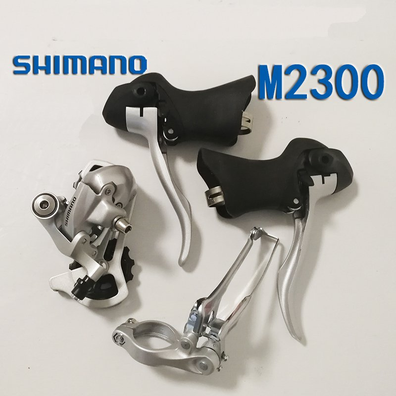 Shimano 2300 8 speed bike Mini Groupset Shifter+Front Derailleur+ Rear Derailleur bicycle Groupset 8s bicycle mtb 3x10 30 speed front rear shifter derailleur groupset for shimano m610 m670 m780 system