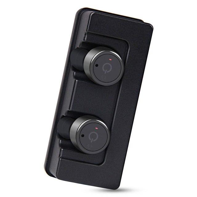 패션 미니 트윈스 블루투스 이어폰 무선 슈퍼베이스 하이파이 스테레오 이어폰 휴대 전화 PC 범용 충전 독