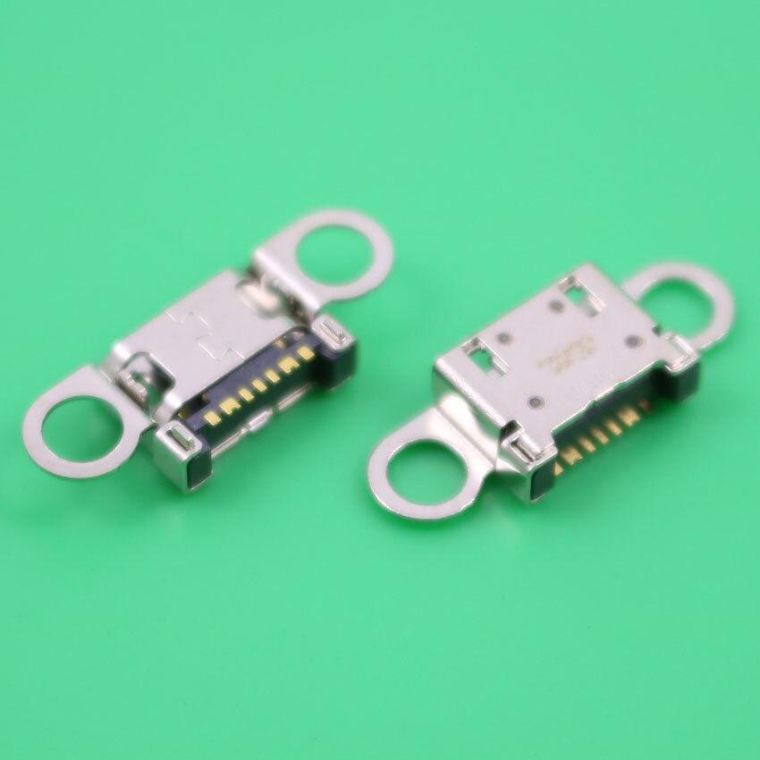 imágenes para 20 unids/lote Para Samsung S6/S6 edge USB dock base de carga USB conector USB puerto G920 G920F G925 G925F