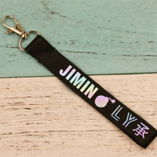 "BTS (Bangtan Boys) ""Love Yourself Her"" Band Member Lanyard Keychains"