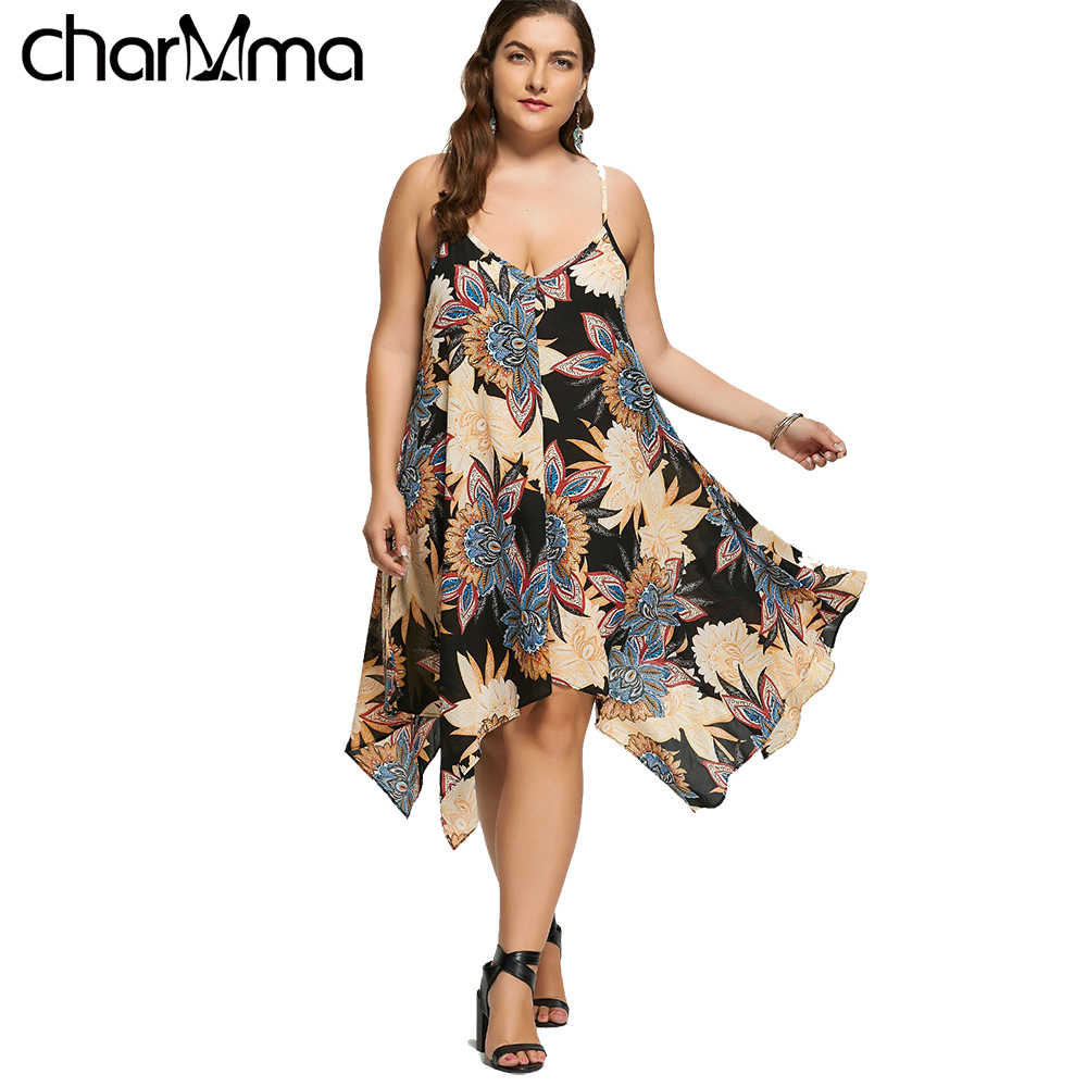 5c85f85d54b67 Detail Feedback Questions about Wipalo Plus Size Floral Asymmetric ...