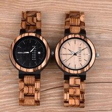 DODO DEER Mens Watch Wood Ultra-thin Timepieces Week Date Display Luminous Hand Quartz Watches Great Gift relogio masculino B04