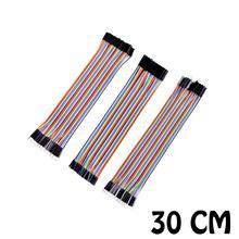 120pcs 30cm male to male + male to female and female to female DuPont cable line Jumper Connector Breadboard