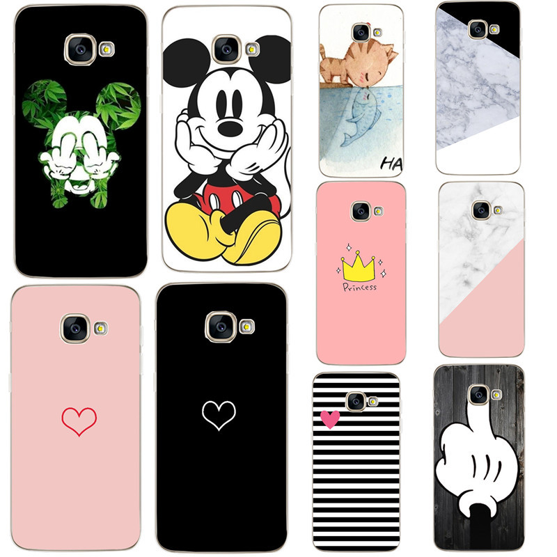 Case For Samsung Galaxy J3 2016 Phone Cases Silicon Cover For Samsung Galaxy A3 A5 J5 2016 A310 A510 A5 J5 2017 Soft Phone Cover image