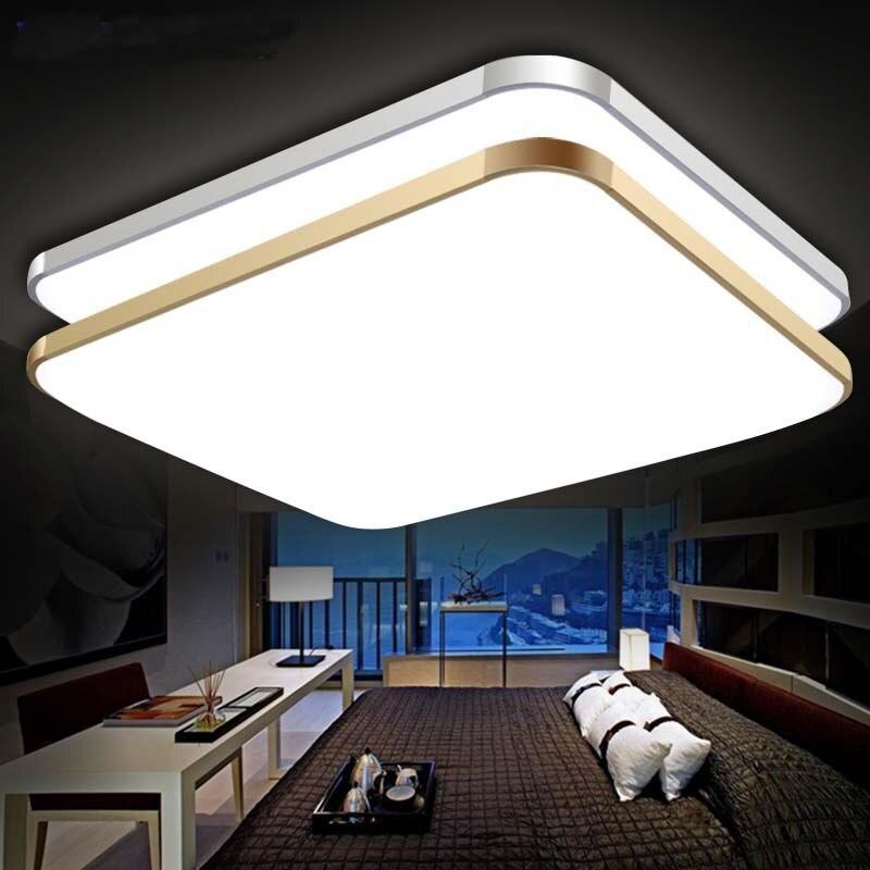 Arte acrílico CONDUZIU a luz de teto