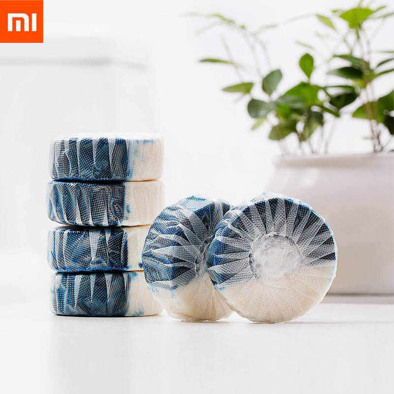 Xiaomi Mijia Clean-n-fresh Double-effect Toilet Block Independent Water-soluble Film Packaging Anionic Active Factor Deep Clean