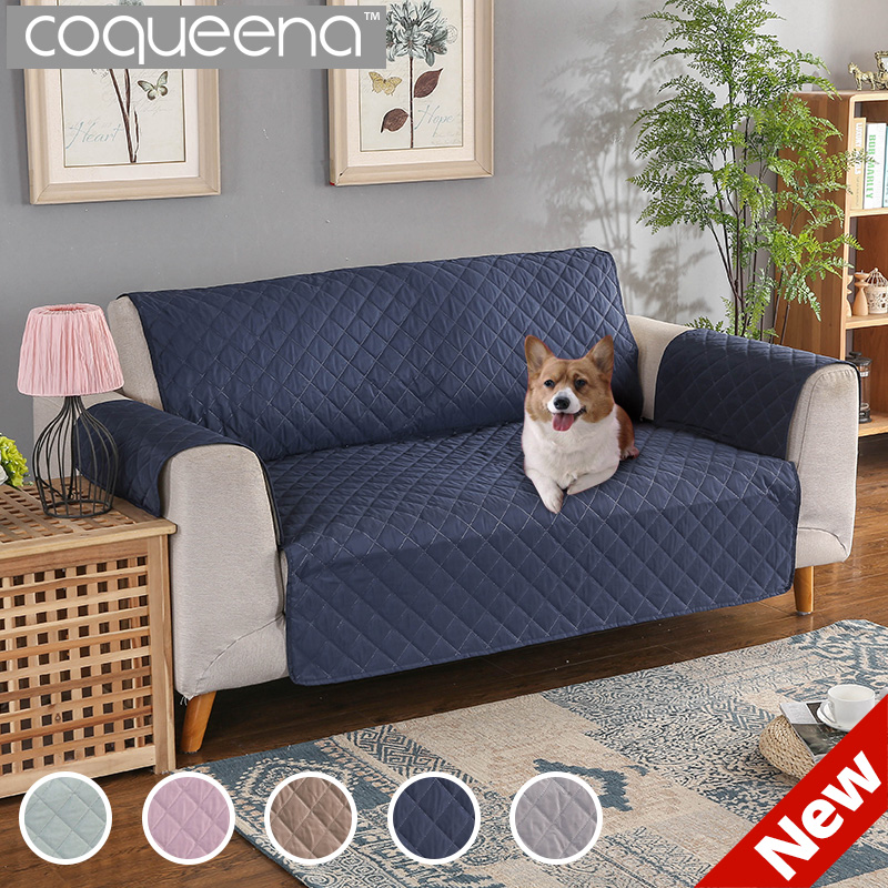Awe Inspiring Us 17 86 53 Off 100 Waterproof Quilted Sofa Covers For Dogs Pets Kids Recliner Armchair Couch Slipcover Furniture Protector Anti Slip In Sofa Cover Caraccident5 Cool Chair Designs And Ideas Caraccident5Info