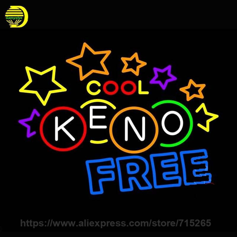 Neon Sign Keno Free Neon Bulb Sign Stars Handcrafted Beer Pub Sign Decorate Game Room Windows Neon Light Sign Advertise Lamp