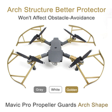 4pcs/set Not Affect Obstacle Avoidance Mavic Pro Propeller Guard Blades Bumper Prop Protector for DJI Mavic Pro Drone