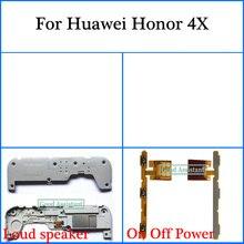 Для huawei Honor 4x/huawei G Play G735-L03 G735-L23 G735 громкий динамик вкл. Гибкий Силовой Кабель