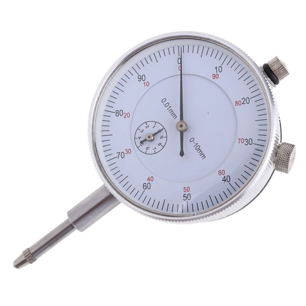 CNIM Hot Dial Indicator Gauge 0-10mm Meter Precise 0.01 Resolution Concentricity Test