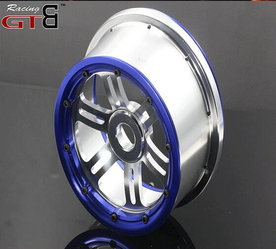 Losi 5ive -t CNC Alloy rim include beadlock not include cap losi 5ive t hd billet rear hub carriers
