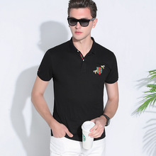 2017 Sale Plus Size Regular Polo Men New Brand Summer Shirt Solid Turn Down Collar Short-sleeved Casual Free Shipping Cotton