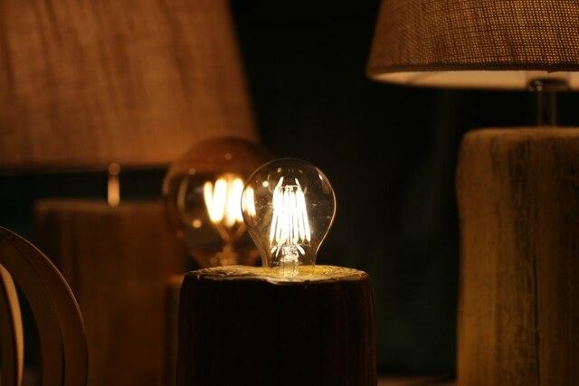 Светодиодный ная лампа накаливания e27 e14 Ретро Эдисона 220