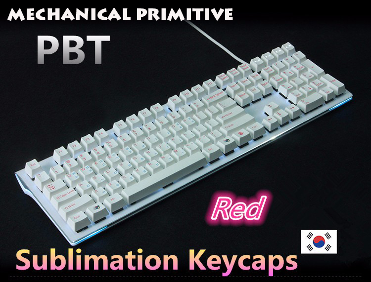 New Arrival 108/104 keys PBT keycap for OEM Profile Cherry MX switch Korean version Mechanical Gaming keyboard Keycaps mp 104 87 keys red gradient cherry mx switch pbt keycaps radium valture side printed keycap for mechanical gaming keyboard