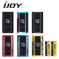 Original IJOY Captain PD270 TC BOX MOD 6000mAh 2pcs 20700 Cells 234W Max Output OLED Screen Ecig Vape Mod VS Captain pd 1865