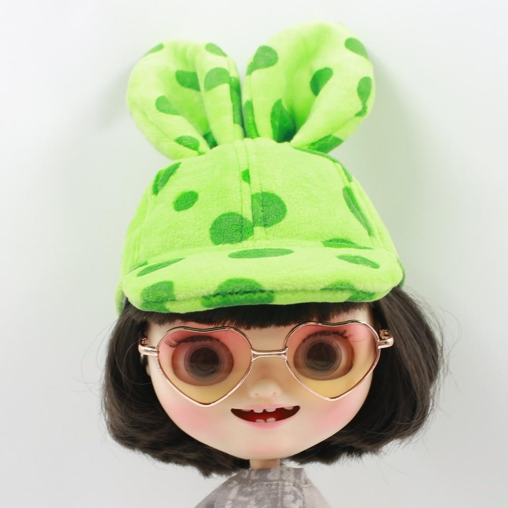 Neo Blythe Doll Heart Shaped Glasses 4