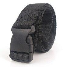 Черный холщовый пояс для женщин, повседневные пояса, пояс 120 см, пояс с пластиковой пряжкой, уличная одежда