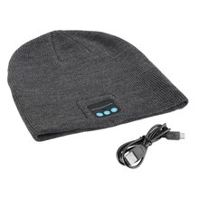 New Arrival Wireless Hat Winter Warm Beanies With V3.0+ EDR Music Hat Skullies Unisex Cool Knitted Cap Hot цена в Москве и Питере