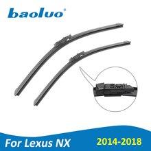 BAOLUO дворников для Lexus NX серии nт X 200 t 300 h 2014 2015 2016 2018 2017 натуральный каучук, лобовое стекло, автомобильные аксессуары