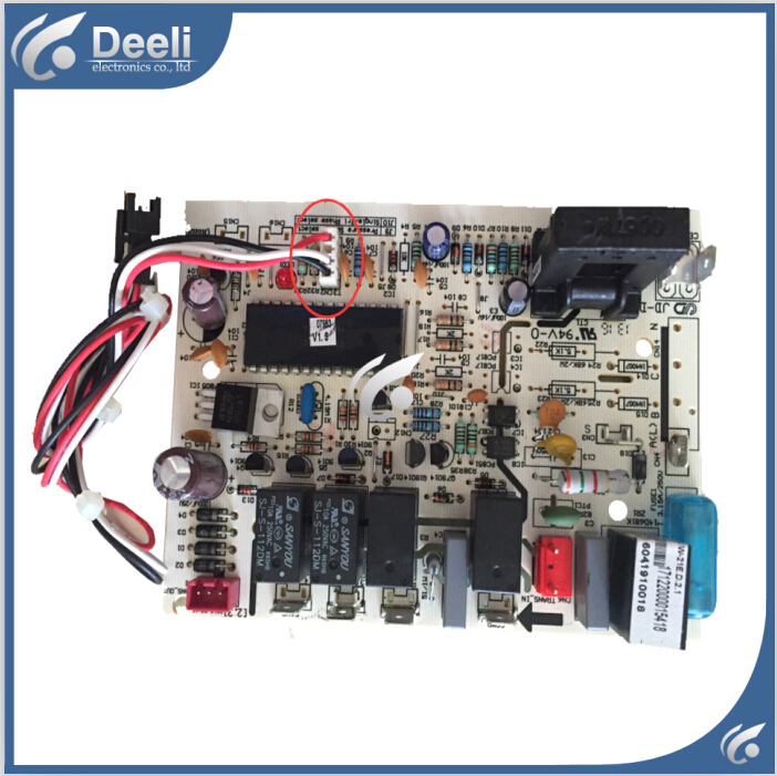 New good working for air conditioning motherboard computer board CE-KFR90GW/I1Y KFR-70GW/DY-T6 circuit board 3 line indoor air conditioning parts mpu kfr 35gw dy t1 computer board kfr 35gw dy t used disassemble
