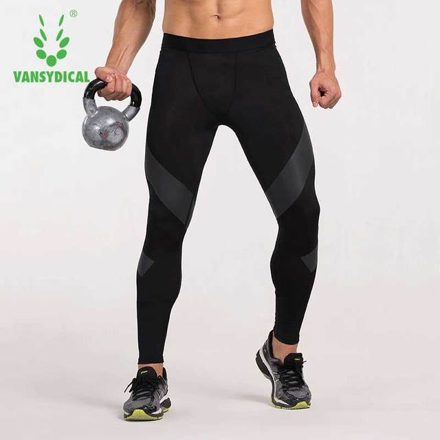 c4b77c53bf 2016 Limited Edition Men's Compression Pants Tights Bodybuilding Jogger  Jogging Skinny Leggings Fitness Trousers