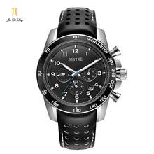 Марка Бизнес Часы Кожаный Ремешок Спортивные Часы Класса Люкс Автоматические Часы Мужчины Водонепроницаемый Механические Наручные Часы Reloj Montre Homme