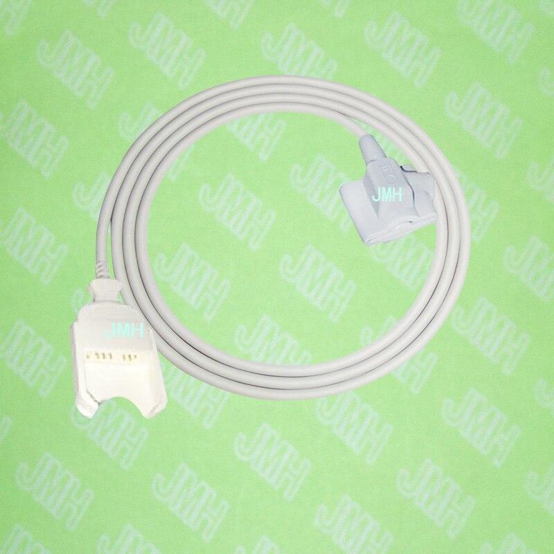 Compatible with 11pin Masimo Pulse Oximeter monitor,Pediatric/Child silicone soft tip spo2 sensor.