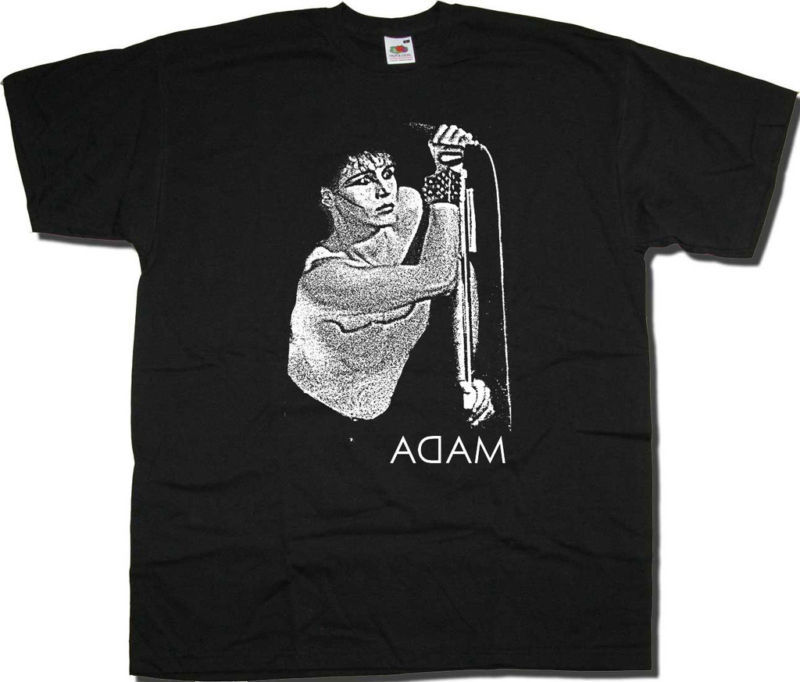 Adam Ant Adam & The Ants Live Pic T Shirt - Classic Adam New Wave Punk T Shirt Funny Clothing Casual Short Sleeve T-shirt