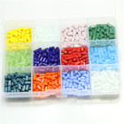 Mix Colors lots of Set Beads Crystal Class Beads Miyuki Beads Bicone Square Round Rondelle Parts to Make Jewelry DIY Bracelets