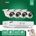 ANRAN 1800N 4CH HD AHD DVR 1800TVL 720P 24 IR Day Night Outdoor Waterproof Video Security Camera Home CCTV Surveillance System
