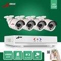 ANRAN 1800TVL 1800N $ number CANALES HD DVR AHD 720 P 24 IR día Noche Impermeable Al Aire Libre Cámara del CCTV del Hogar de Vigilancia de Seguridad de Vídeo sistema