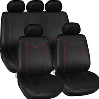 Car Style T21638 9PCS Set Auto Interior Accessories Car Seat Covers Protector