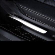 Автомобиль-Стайлинг подкладке регулировки сиденья Обложка отделки полосы 3D Стикеры для Mercedes Benz B класс CLA GLA W176 W246 C117 аксессуары